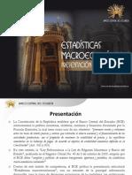 estadísticas macroeconómicas presentación estructural 2011