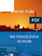 Diapositiva Metodologia de Desarrollo de Software Scrum
