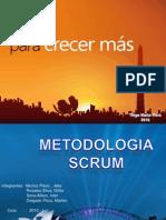 Diapositiva Metodologia de Desarrollo de Software Scrum