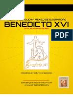 Visita Apostolica de Su Santidad Benedicto XVI a Mexico, Marzo de 2012