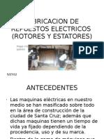 Fabricacion de Repuestos Electricos