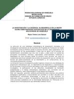 Docencia-Investigacion de Reyna Lara