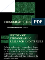 Cultural Anthropology Chap 3 - Ethnographic Research.pot
