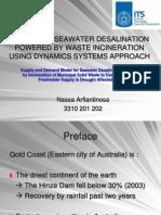 Ppt Optimasi Desalinasi