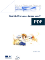 Web 2.0 Where Does Europe Stand