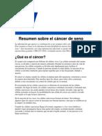 Resumen Sobre El Cancer de Seno-PDF