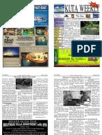 "Kuta Weekly-Edition 286 ""Bali""s Premier Weekly Newspaper"""