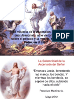 La Ascension de Jesus