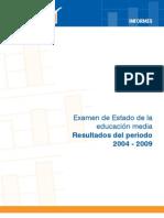 Informe Saber 11 2004 2009