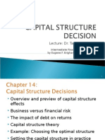 Ch_14_Capital Structure Decision Part 1