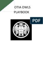 Cotia Owls Playbook
