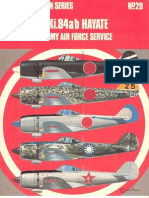58307894 Osprey Aircam Aviation 29 Nakajima Ki 84 a B Hayate in Japanese Army Air Force Service