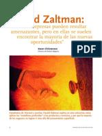 Sorpresas y des Gerald Zaltman