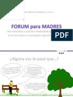 Forum Para Madres 2012 VF
