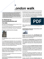 Free self guided walk around the City of London