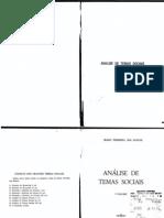 Análise de Temas Sociais 01 - Mário Ferreira dos Santos
