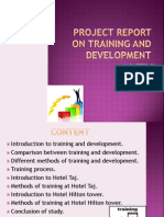 Ppt on Training and Development