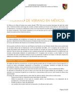 HORARIO DE VERANO EN MÉXICO