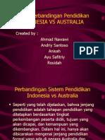 Per Banding An Pendidikan Di Indonesia & Australia