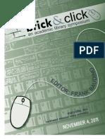 Brick and Click Libraries