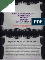 Per Banding An Pendidikan Di Indonesia & Prancis