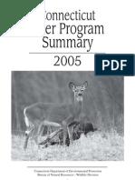 2005 Deer Program Summary