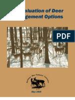 An Evaluation of Deer Management Options