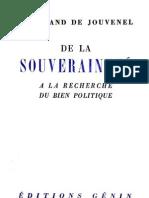 De la souveraineté