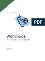 Worldwide Wireless Data Trends