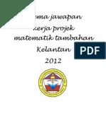 add math project work Kelantan 1/2012