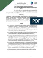 ECEST Convocatoria Movilidad Docentes 2012