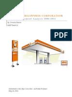001 Financial Analysis - Liquigaz Philippines Corporation