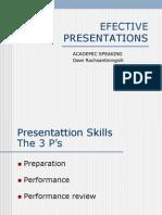 1.Efective Presentations