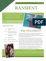 Transient Volume I Issue 1