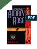 De Felitta Frank - El Cristal Ardiente (Audrey Rose)