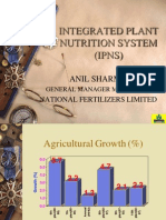 Integrated Plant Nutrient Supply System