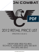 2012 Wilson Prices