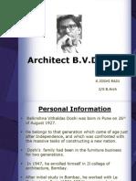 24714809 Architect BV DOSHI