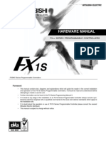 FX1S PLC Series - Hardware Manual_0900766b80082eec