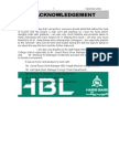 26118207 Recommended Internship Report HBL