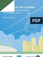 Telegondola in Londra