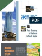 Saudi Investment Support Center Brochure