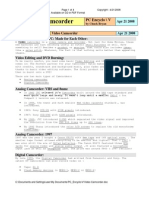 PDF Video Camcorder