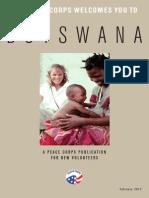 Peace Corps Botswana Welcome Book  |  February 2012