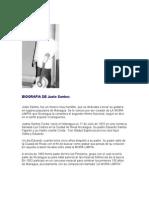 Biografìa de Justo Santos