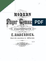 IMSLP03884 Haberbier Modern Finger Gymnastics