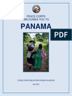 Peace Corps Panama Welcome Book  |  April 2012