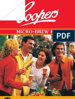 Coopers Microbrew Booklet
