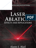 Black Sh e Ed Laser Ablation Effects and Applications