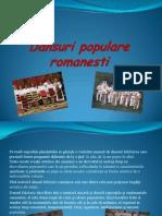 Dansuri populare romanesti
